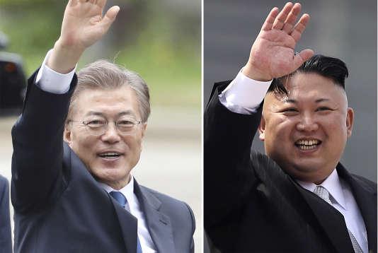 Cette offre de dialogue est la première depuis l'arrivée au pouvoir en mai du président Moon Jae-in (à gauche).