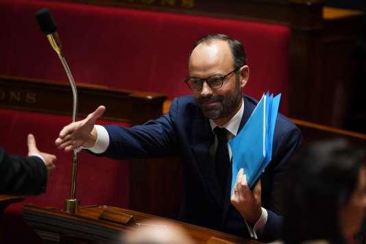 Le premier ministre Edouard Philippe à l'Assemblée nationale (Paris), le 4 juillet.