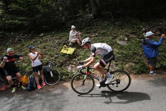 Warren Barguil le 9 juillet sur le Tour de France.