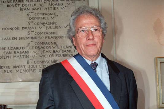 Robert Vigouroux en 1989.