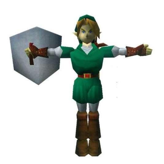 Ocarina of Time marque la première apparition de Link en 3D.