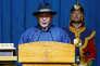 Le nouveau président mongol,Khaltmaa Battulga, lors de la cérémonie d'investiture à Oulan-Bator, en Mongolie, le 10 juillet 2017.