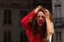 Mireille Herbstmeyer joue dans «Les Parisiens», pièce mise en scène par Olivier Py, lors du festival d'Avignon le 5 juillet.