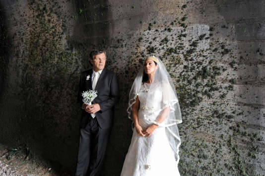 « On the Milky Road », Emir Kusturica et Monica Bellucci.
