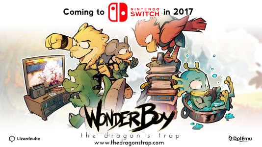 «Wonder Boy», sorti sur Switch en avril dernier, a été le premier succès d'un jeu indé français sur la jeune console de Nintendo.
