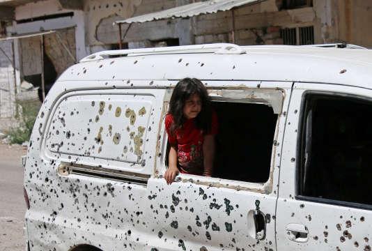 A Deraa, le 9 juillet.