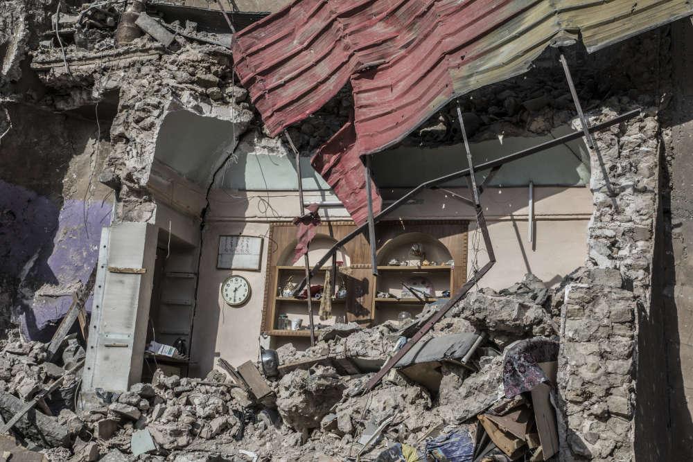 Prise presque sans combat en juin2014, Mossoul était devenue le symbole de la progression de l'organisation Etat islamique et de l'effondrement du régime irakien.