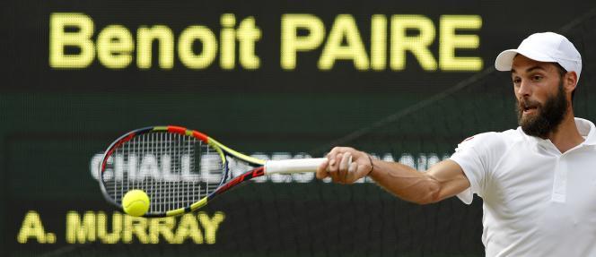 Benoit Paire lors de son match face à Murray.