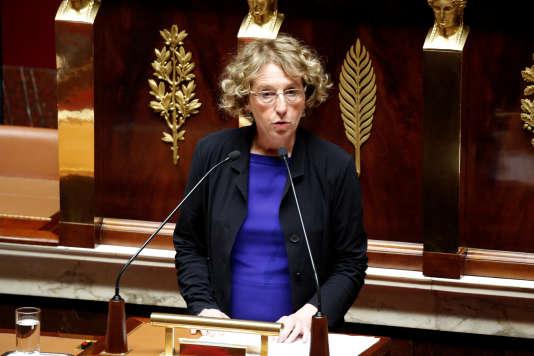 La ministre du travail, Muriel Penicaud, le 10 juillet, à l'Assemblée nationale.