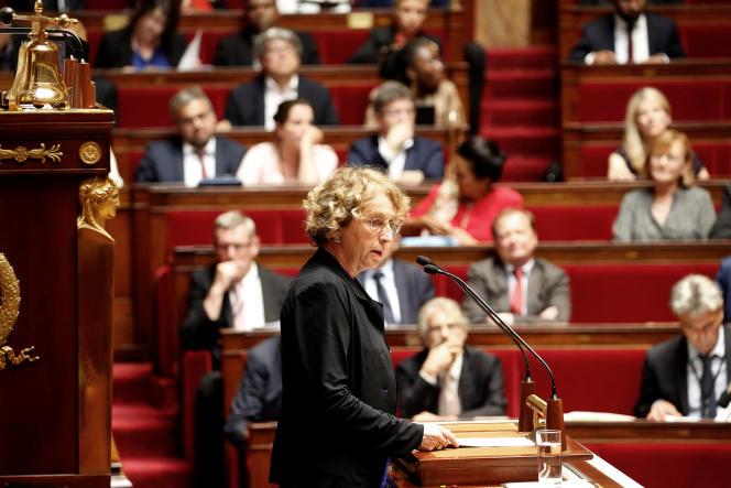 Muriel Pénicaud à l'Assemblée nationale pour le début des débats sur la réforme du code du travail.