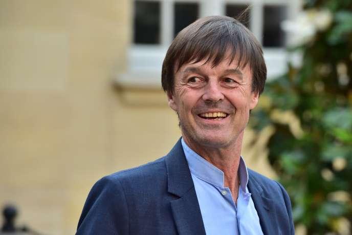 Le ministre de la transition écologique, Nicolas Hulot, le 1er juin 2017.