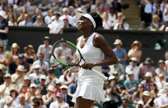 Venus Williams, le 10 juillet.