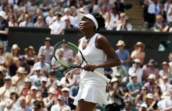 Venus Williams, le 10 juillet.