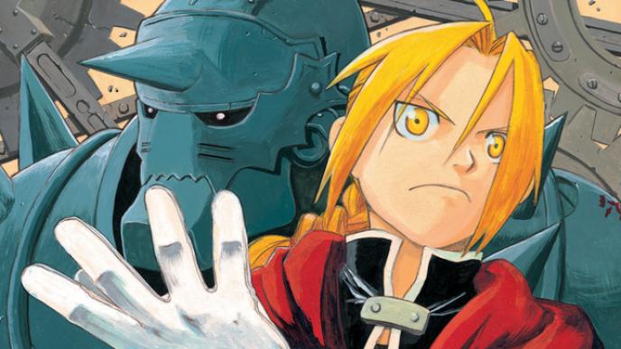 «Fullmetal Alchemist» raconte l'histoirede deux frères partis en quête de la pierre philosophale.