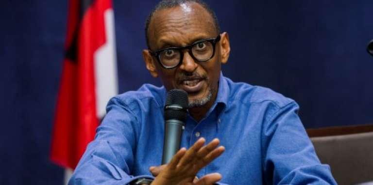 Le président rwandais Paul Kagamé, à Kigali, le 22 juin 2017.