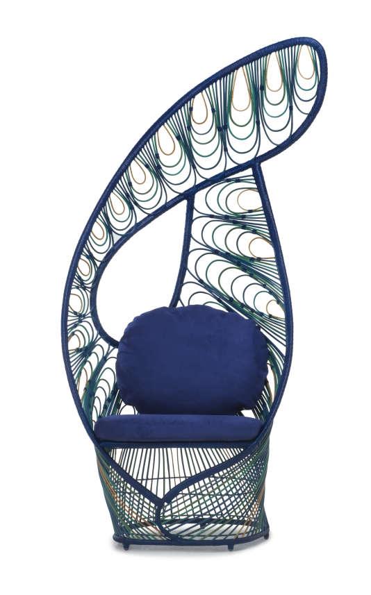 Peacock, du designer philippin Kenneth Cobonpue.