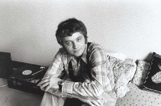 L'écrivain Jean-Patrick Manchette, en 1981.