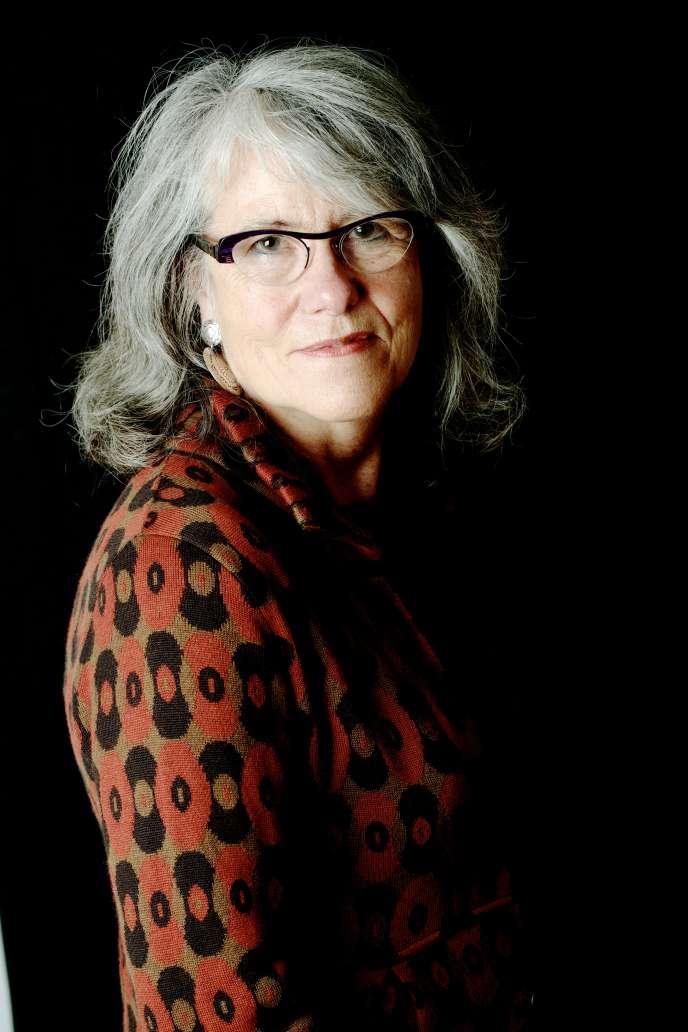 L'écrivaine et productrice à France Culture Marie Hélène Fraïssé.