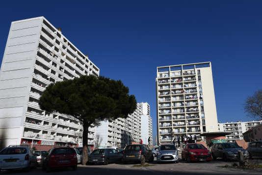 Logements sociaux dans le 3e arrondissement de Marseille (PACA), le 24 janvier.