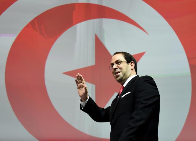 Le premier ministre tunisien, Youssef Chahed, à Tunis, en novembre 2016.