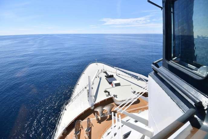 L'océan Atlantique.