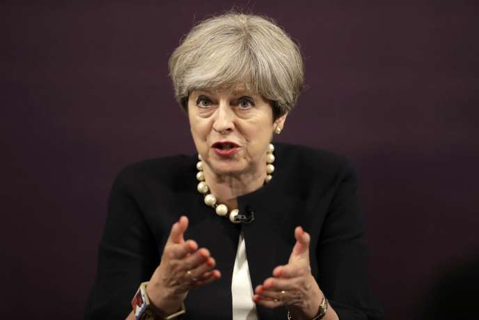Theresa May, la première ministre britannique, à Londres, le 11 juillet.