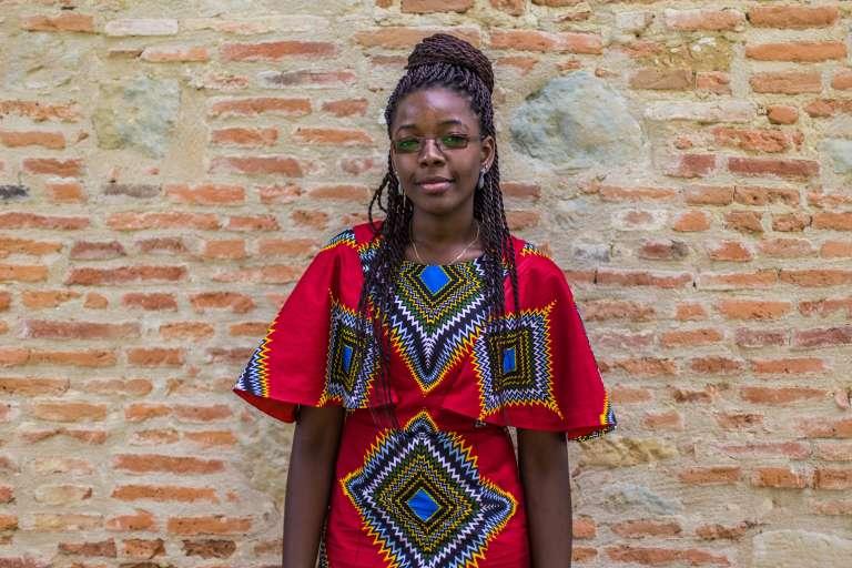 La Camerounaise Evelyne-Inès Ntonga.