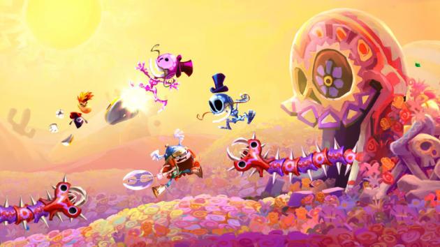 « Rayman Legends» (Ubisoft, 2013), dernier épisode à ce jour des aventures de Rayman sur console de salon.