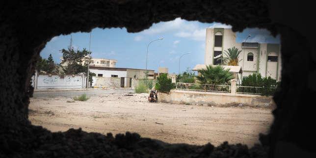 Syrte, en Libye, lors des combats contre l'organisation Etat islamique, en septembre 2016.