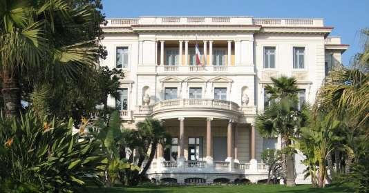 Le palais Masséna, situé à deux pas de la Promenade des Anglais.