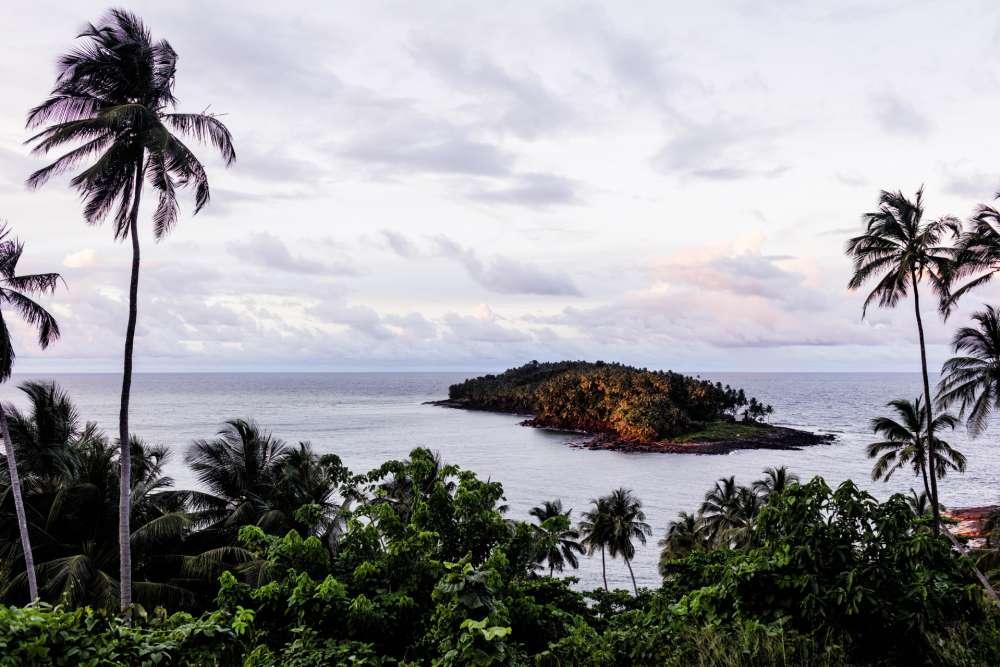 Au large des côtes guyanaises, l'île du Diable fait partie destrois îles du Salut. Aujourd'hui à l'abandon, elle hébergea, de 1852 à 1953,un bagneconnu pour les mauvais traitements infligés aux bagnards.De nombreux prisonniersy furent exilés,parmi eux le capitaine Dreyfus, de 1895 au 1899.