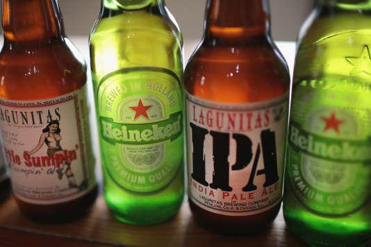 Ces trois groupes industriels qui rassemblent plus de 1400marques de bière