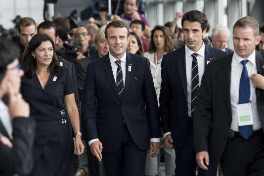 La 130e session du CIO à Lausanne a été marquée par la venue du président Emmanuel Macron.