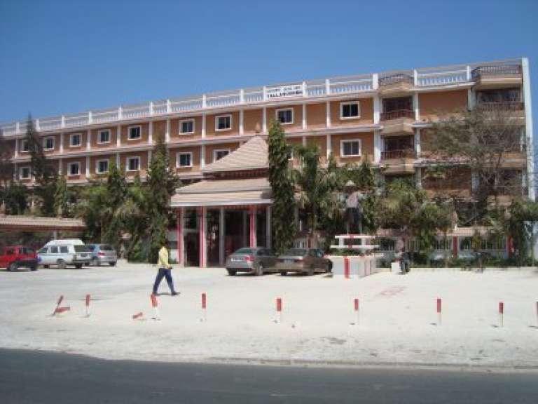 Le lycée Yalla-sur-en de Dakar, d'où serait partie l'une des fuites du bac 2017.
