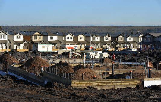 Maisons à vendre en Alberta. La région a beaucoup souffert de l'effondrement des cours de pétrole, débuté fin 2014.