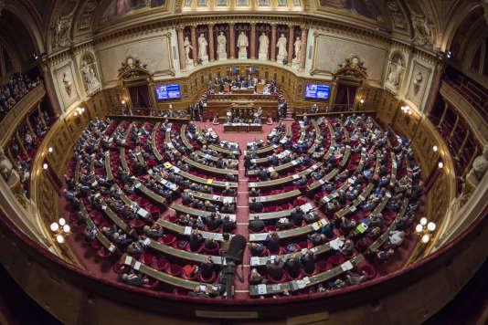 Le Sénat, le 17 septembre 2016.