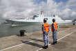 Un des navires chinois en partance pour Djibouti, à Zhanjiangle 11 juillet.
