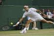 Roger Federer, le 12 juillet 2017.