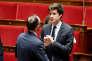 Julien Denormandie, le secrétaire d'Etat à la cohésion du territoire (à droite) et Edouard Philippe, le premier ministre, le 12 juillet, à l'Assemblée nationale, à Paris.
