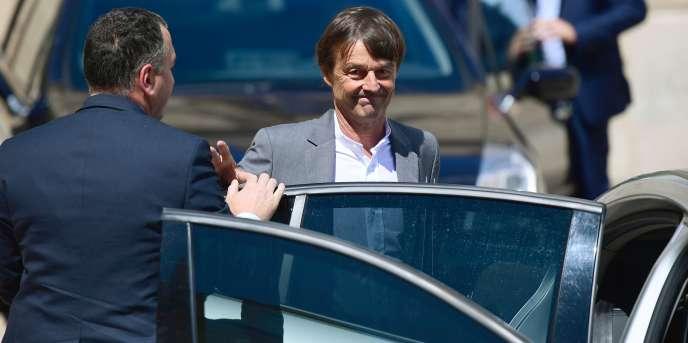 Nicolas Hulot quitte l'Elysée le 12 juillet.