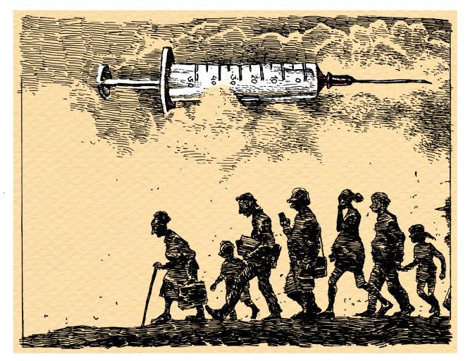 «Aucun élément scientifique ne plaide en faveur d'une efficacité de l'obligation, certains pays européens comparables ont des taux de couverture vaccinale équivalents ou supérieurs aux nôtres sans aucune obligation.»