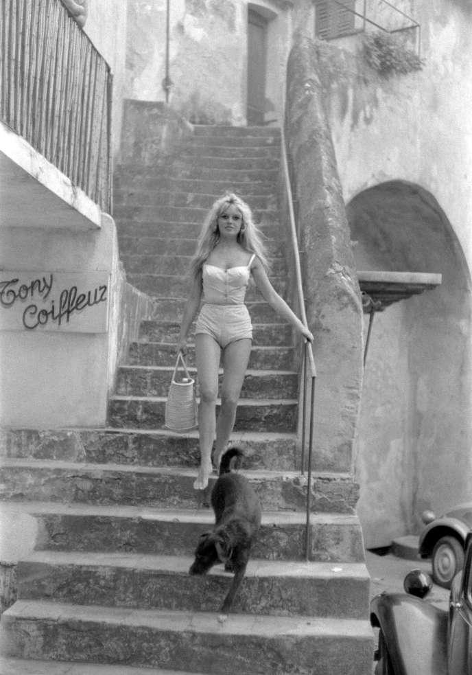 Brigitte Bardot Mythe Et Marque De Saint Tropez