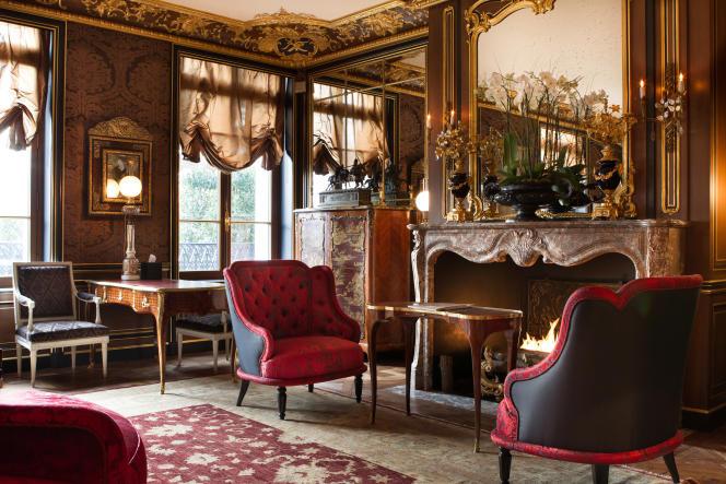 La Réserve a été décorée dans l'esprit du Paris haussmannien.
