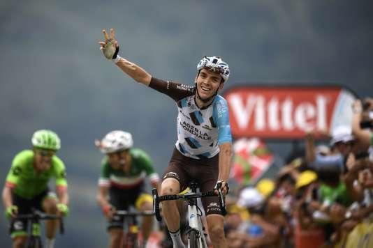 Pour la troisième année de suite, Romain Bardet remporte une victoire sur le Tour de France.