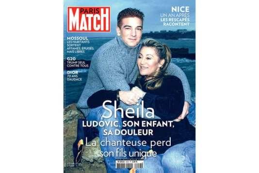 La «une»de l'édition de Paris Match du jeudi 13 juillet.