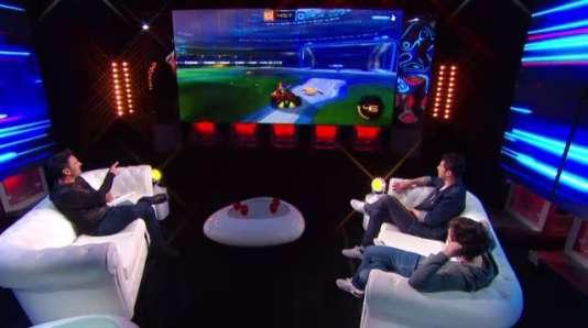 Lors de la dernière du« JDJV», Fred Moulin a accueilli les comiques Jordi et Martin pour parler notamment de« Rocket League».