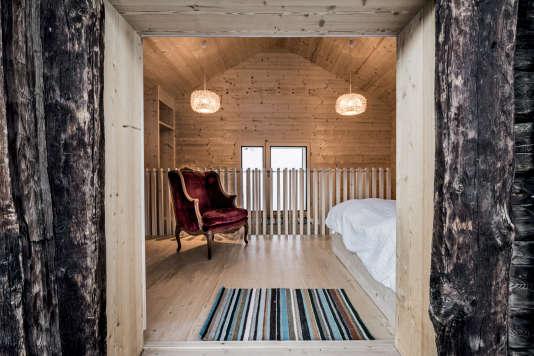 Si l'extérieur du mayen est rustique, l'intérieur a tout du confort moderne.