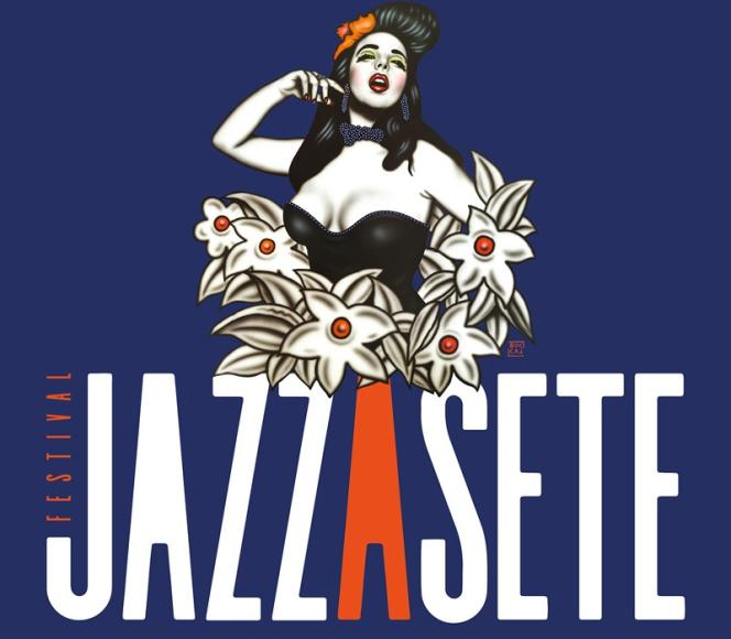 Affiche du festival Jazz à Sète (Hérault), jusqu'au 20 juillet.