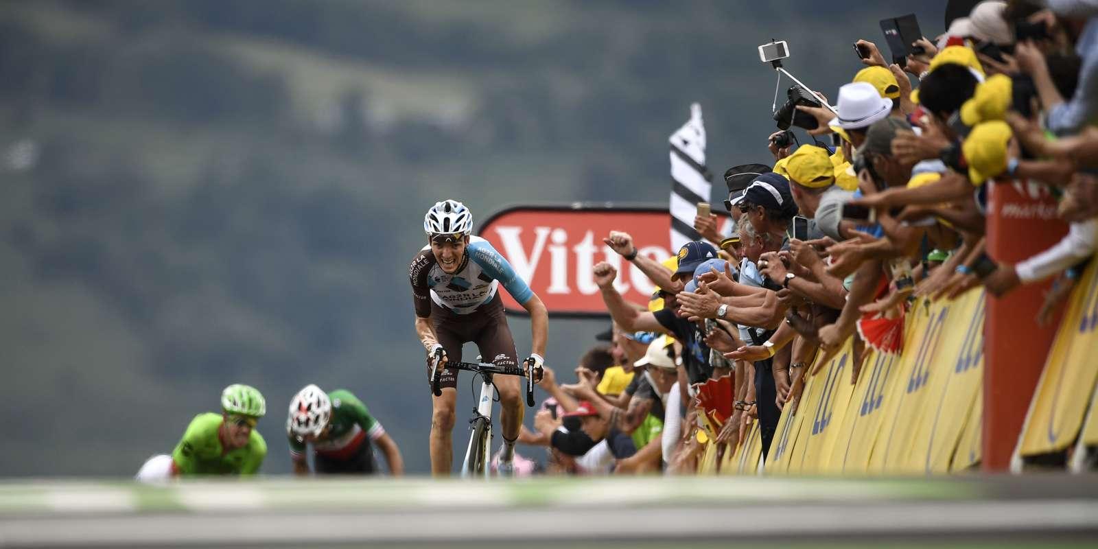 Romain Bardet s'impose à Peyragudes.