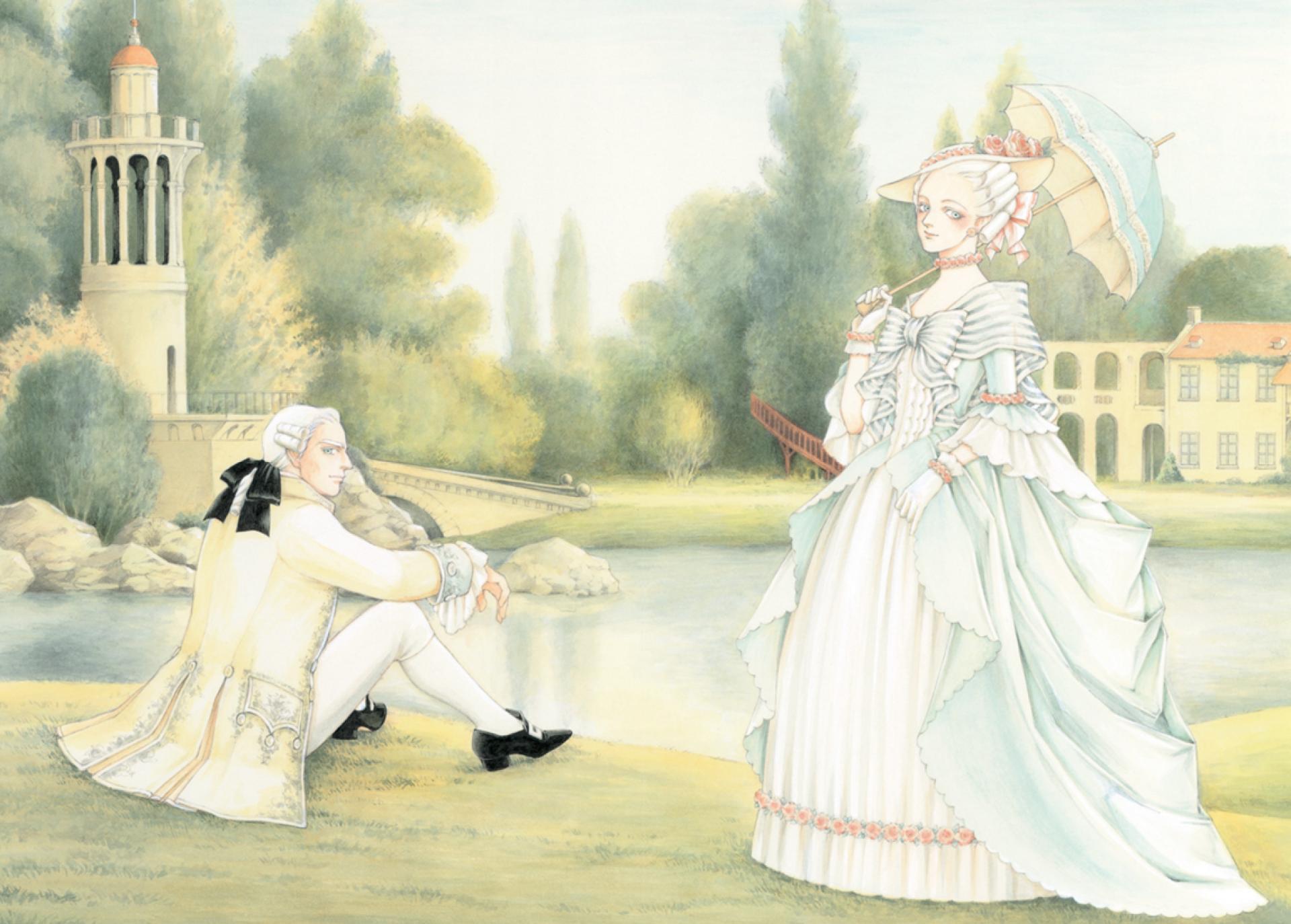 «Marie-Antoinette, la jeunesse d'une reine» a été réalisé en partenariat avec le château de Versailles.